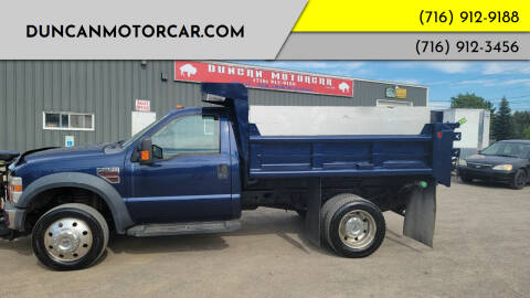 2009 Ford F-550 Super Duty for sale at DuncanMotorcar.com in Buffalo NY