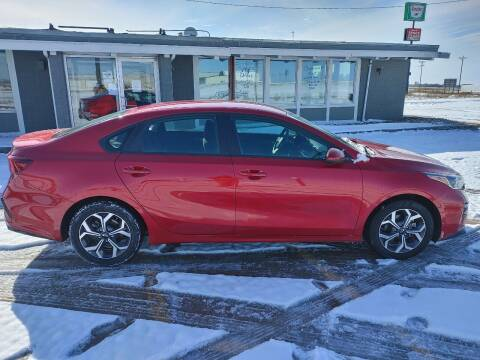 2020 Kia Forte for sale at BERG AUTO MALL & TRUCKING INC in Beresford SD
