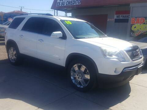 2010 GMC Acadia for sale at Sunday Car Company LLC in Phoenix AZ