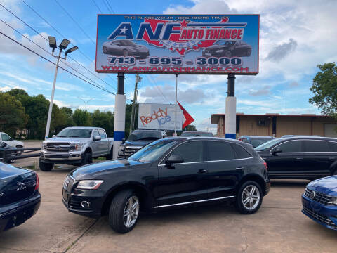 2015 Audi Q5 for sale at ANF AUTO FINANCE in Houston TX
