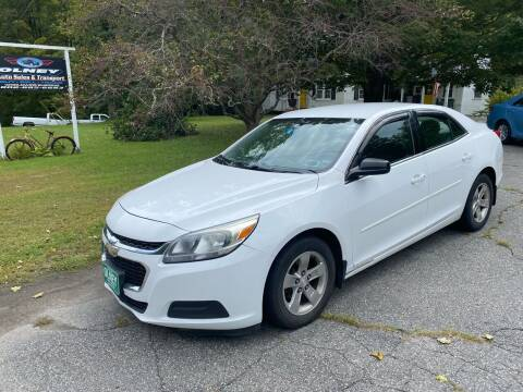 2014 Chevrolet Malibu for sale at Olney Auto Sales in Springfield VT
