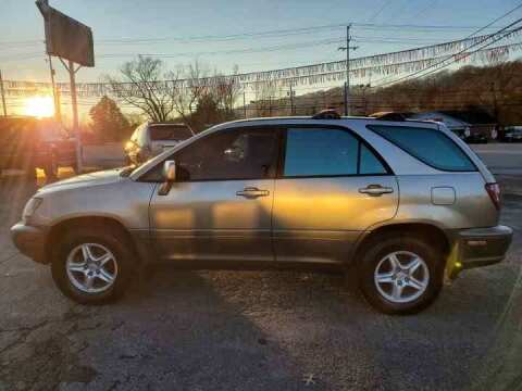 2000 Lexus RX 300 for sale at Knoxville Wholesale in Knoxville TN