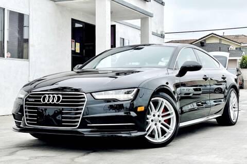 2017 Audi A7 for sale at Fastrack Auto Inc in Rosemead CA