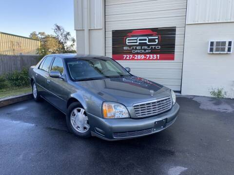 2004 Cadillac DeVille for sale at Elite Auto Group LLC in Pinellas Park FL