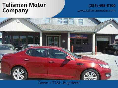 2012 Kia Optima for sale at Don Jacobson Automobiles in Houston TX