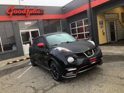 2014 Nissan JUKE for sale at Goodfella's  Motor Company in Tacoma WA