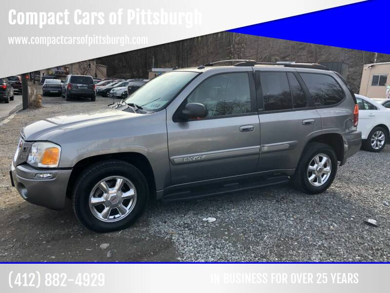 2005 GMC Envoy for sale at Compact Cars of Pittsburgh in Pittsburgh PA