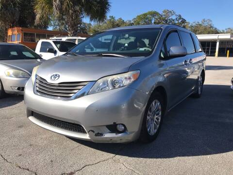 2013 Toyota Sienna for sale at Popular Imports Auto Sales in Gainesville FL