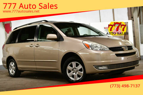 2004 Toyota Sienna for sale at 777 Auto Sales in Bedford Park IL