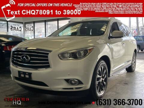 2013 Infiniti JX35 for sale at CERTIFIED HEADQUARTERS in St James NY