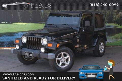 2000 Jeep Wrangler for sale at Best Car Buy in Glendale CA