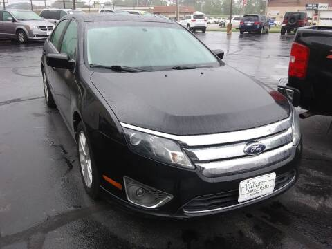 2012 Ford Fusion for sale at Village Auto Outlet in Milan IL