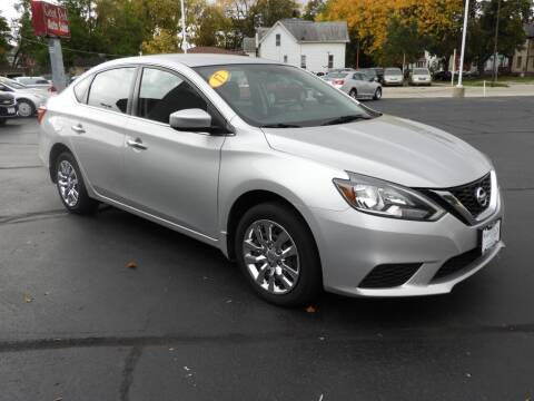 2017 Nissan Sentra for sale at Grant Park Auto Sales in Rockford IL