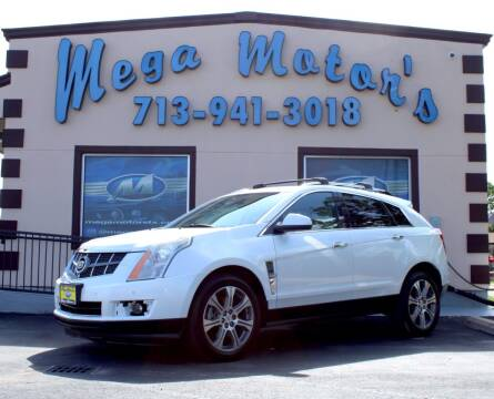 2012 Cadillac SRX for sale at MEGA MOTORS in South Houston TX