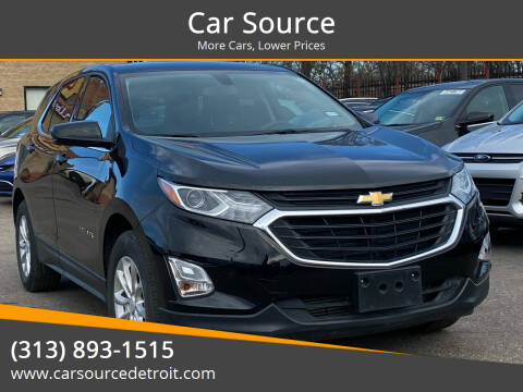 2019 Chevrolet Equinox for sale at Car Source in Detroit MI