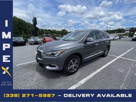 2017 Infiniti QX60 for sale at Impex Auto Sales in Greensboro NC
