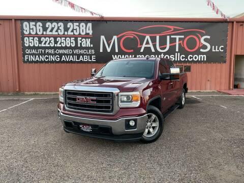2015 GMC Sierra 1500 for sale at MC Autos LLC in Pharr TX