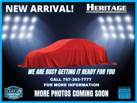 2010 Acura MDX for sale at Heritage Motor Company in Virginia Beach VA