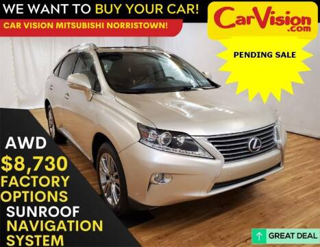 2013 Lexus RX 450h for sale at Car Vision Mitsubishi Norristown in Trooper PA