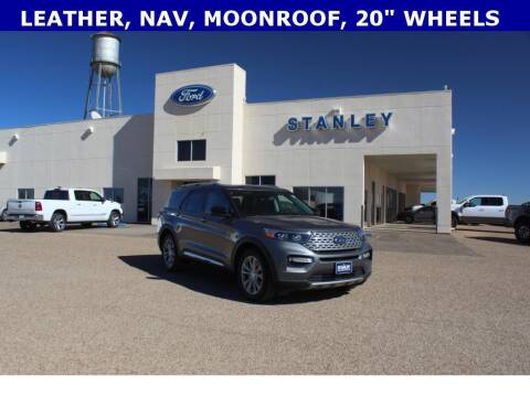 2021 Ford Explorer for sale at STANLEY FORD ANDREWS in Andrews TX