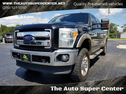 2012 Ford F-250 Super Duty for sale at The Auto Super Center in Centre AL