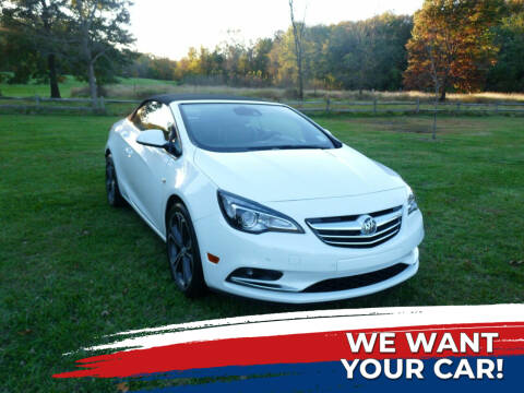 2016 Buick Cascada for sale at TJS Auto Sales Inc in Roselle NJ