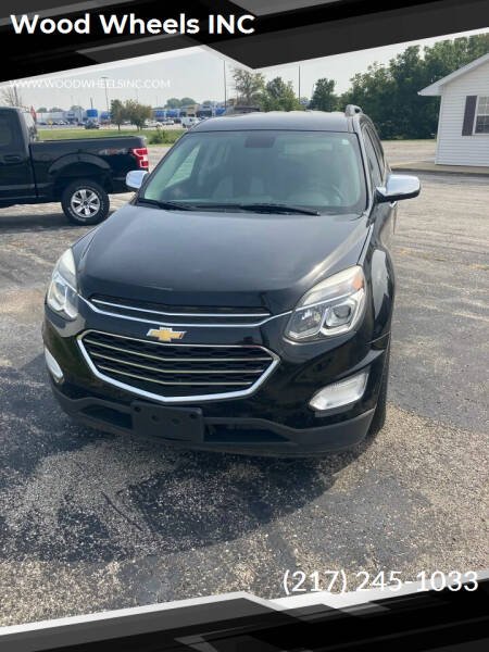 2016 Chevrolet Equinox for sale at Wood Wheels INC in Jacksonville IL