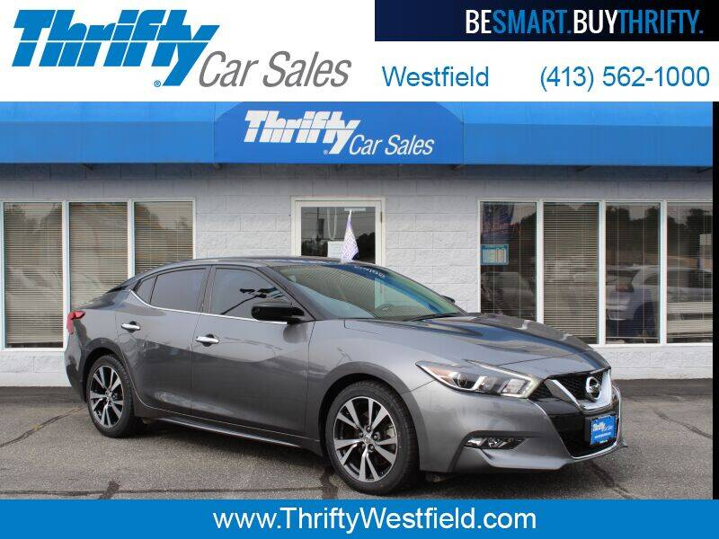 2017 Nissan Maxima for sale at Thrifty Car Sales Westfield in Westfield MA