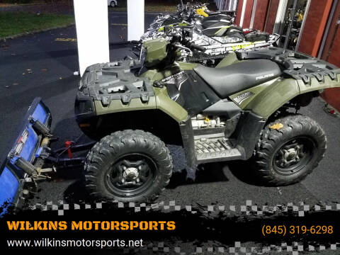 2011 Polaris Sportsman 550 for sale at WILKINS MOTORSPORTS in Brewster NY
