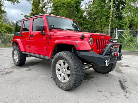 2015 Jeep Wrangler Unlimited for sale at Sandlot Autos in Tyler TX