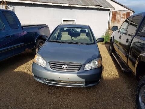 2003 Toyota Corolla for sale at Craig Auto Sales in Omro WI