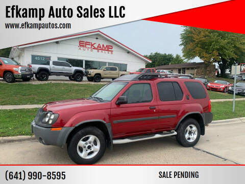 2003 Nissan Xterra for sale at Efkamp Auto Sales LLC in Des Moines IA