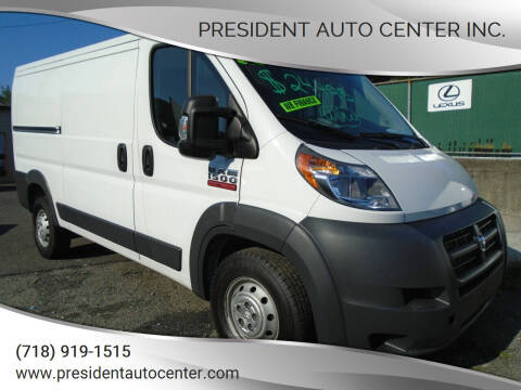 2016 RAM ProMaster Cargo for sale at President Auto Center Inc. in Brooklyn NY