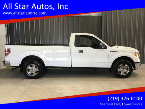 2010 Ford F-150 for sale at All Star Autos, Inc in La Porte IN