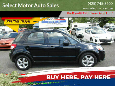 2008 Suzuki SX4 Crossover for sale at Select Motor Auto Sales in Lynnwood WA