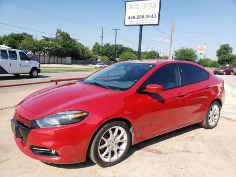 2013 Dodge Dart for sale at Shock Motors in Garland TX