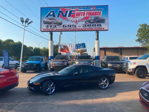 2011 Chevrolet Corvette for sale at ANF AUTO FINANCE in Houston TX