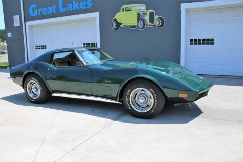 1973 Chevrolet Corvette for sale at Great Lakes Classic Cars & Detail Shop in Hilton NY