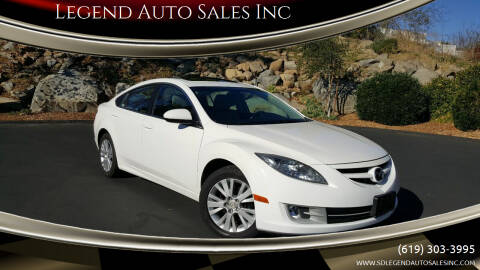 2010 Mazda MAZDA6 for sale at Legend Auto Sales Inc in Lemon Grove CA