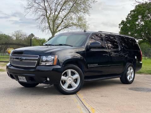 2008 Chevrolet Suburban for sale at Texas Auto Corporation in Houston TX