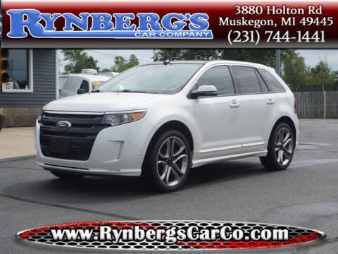 2014 Ford Edge for sale at Rynbergs Car Co in Muskegon MI