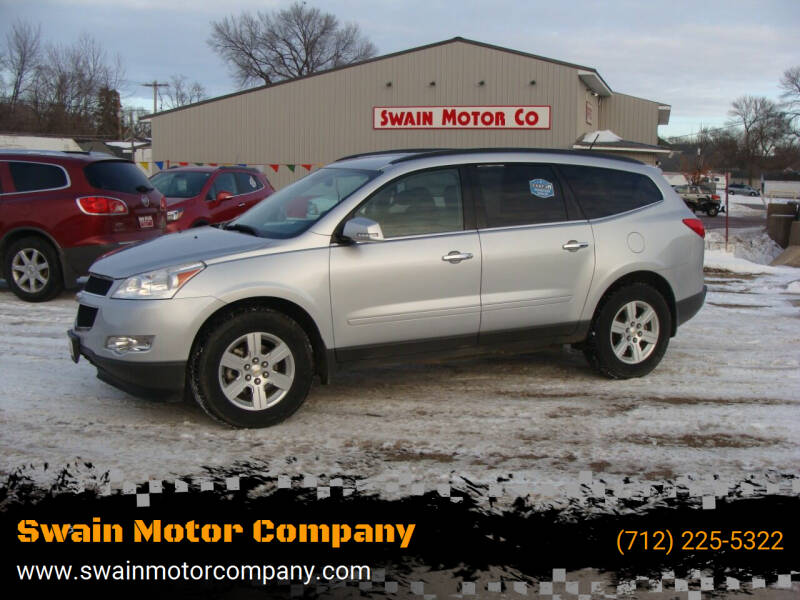 2012 Chevrolet Traverse for sale at Swain Motor Company in Cherokee IA