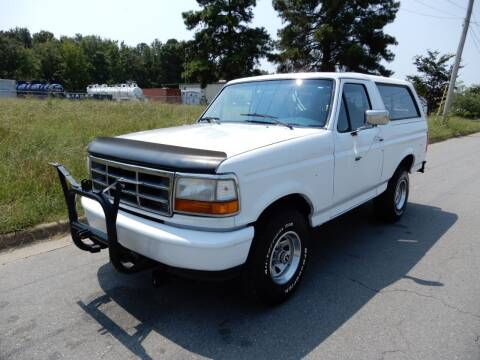 1994 Ford Bronco for sale at United Traders Inc. in North Little Rock AR