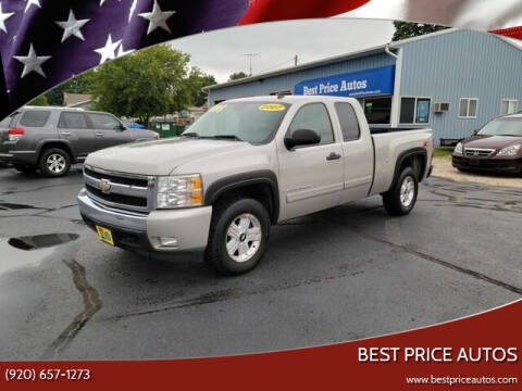 2007 Chevrolet Silverado 1500 for sale at Best Price Autos in Two Rivers WI