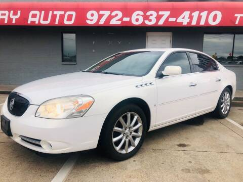 2007 Buick Lucerne for sale at Texas Luxury Auto in Cedar Hill TX