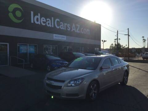 2012 Chevrolet Malibu for sale at Ideal Cars Apache Trail in Apache Junction AZ