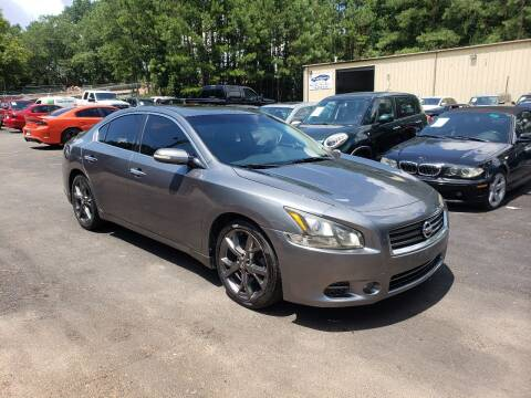 2014 Nissan Maxima for sale at GA Auto IMPORTS  LLC in Buford GA