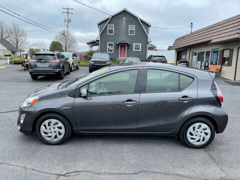 2016 Toyota Prius c for sale at MAGNUM MOTORS in Reedsville PA