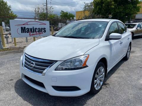 2015 Nissan Sentra for sale at Maxicars Auto Sales in West Park FL