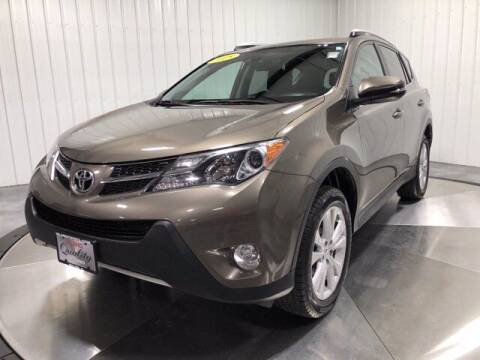 2015 Toyota RAV4 for sale at HILAND TOYOTA in Moline IL